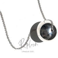 silver925 2.5cm Big Ball Necklace/40cm〈Style.No.020813-38〉