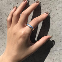 silver925 Square Ring /size:M,L〈Style.No 020402-28〉