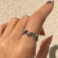 silver925 Ivy Ring /size:S,M,L〈Style.No 020203-107〉