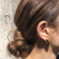 silver925 K18GP Cady  Earring <Style No.020401-3>