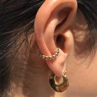 silver925 K18GP Grain Ear Cuff〈StyleNo.020319-9〉