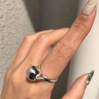 silver925 Clatter Ball Ring/size:M,L〈Style No.020319-27〉