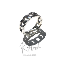 silver925 Chain Ring/size:M〈Style.No.020813-22〉