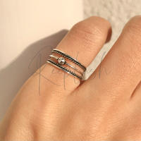 silver925 Pinky Ring/size:#3-5