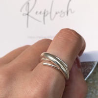 silver925 ring -bloom-〈StyleNo.010724-40〉size:#13