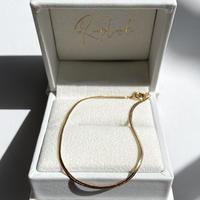 14K Snake Chain Bracelet