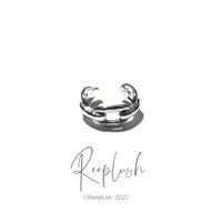 silver925 Chain Ear Cuff