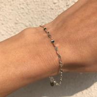 silver925 Prea chainBracelet〈StyleNo.020203-73〉