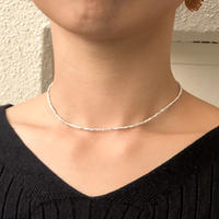 【Star Edition】silver925 Stardustchoker/35cm〈Style No.011202-70〉