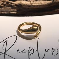silver925 K18GP  ring-RoundnessHug-〈StyleNo.010724-39〉size:#10