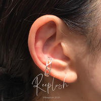 silver925 Triangle Ear Cuff〈StyleNo.020813-21〉