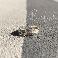 silver925 Toe Ring TypeD/size:Free〈Style.No.020611-7〉