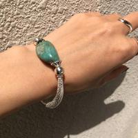 silver925 Turquoise Bracelet〈StyleNo.020319-1〉