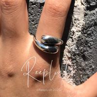 【 unisex】silver925 Lola Lola Ring/size:S,M,L〈Style.No.020605-11〉