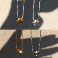 【Star Edition】silver925 Star&Heart Necklace <Style No.011202-4,5,6,7>