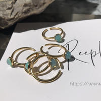 silver925 K18GP Opal Ring/size:M<Style No.010904-14>