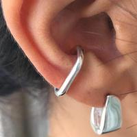 silver925 - Small Size Cfook Earcuff -〈StyleNo.010904-82〉silver/1peace