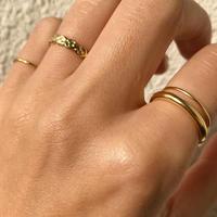silver925  K18GP 4Set Rings < Style No.011016-setrings11 >