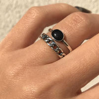 silver925 Evans Stone Ring /size:M〈Style.No 020203-22〉