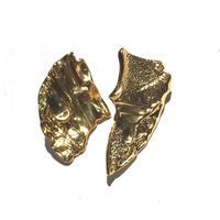 silver925 K18GP CARA Pierce <Style No.020319-18>