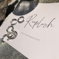 silver925  -C Earcuff-〈StyleNo.010904-44-re〉silver/1peace