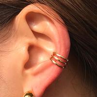 silver925 K18GP Bruno Ear cuff /1P〈StyleNo.020203-84〉