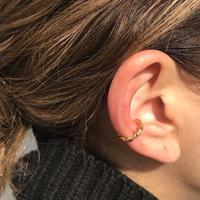 silver925 K18GP Twist EarCuff  /gold:1P〈StyleNo.011202-31〉