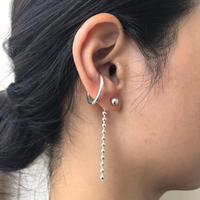 silver925 - Ballchain Drop pierce - <Style No.010904-93>