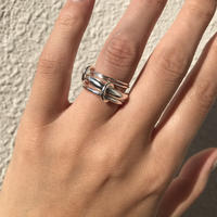silver925  4 chains ring /size:S,M〈StyleNo.020203-39-re〉