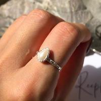 【ラスト1点】silver925 Swarovski pearl ing/size:#11<Style No.010904-17>