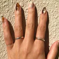 silver925  4Set Rings < Style No.011016-setrings10 >