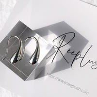 silver925 Droplet Pierce<Style No.020203-131-re>