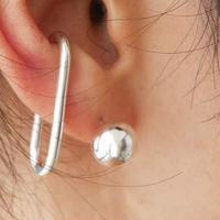 silver925  -Silver Ball Pierce-〈StyleNo.010724-19〉