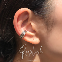 silver925 Bunch Ear Cuff〈StyleNo.020813-32〉