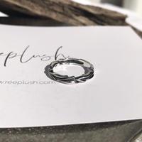 silver925 Arabesque ring/size:M〈StyleNo.011016-9〉