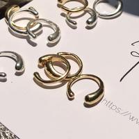 【再入荷】silver925 K18GP Nuance earcuff /1P〈StyleNo.011202-16-re〉