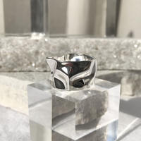 silver925 Big Hammer Ring/size:M,L<Style No.010904-42>