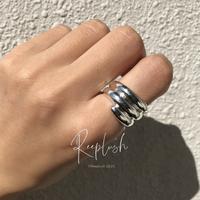 silver925 Mason Ring /size:#12