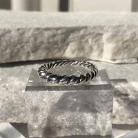 【 unisex】silver925 Croissant Ring /size:S/M/L〈Style.No 011202-73〉