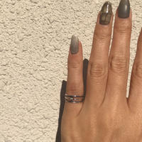 silver925  PinkyRing /size:S〈Style.No 020203-62-re〉