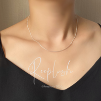 silver925 Slender Necklace〈StyleNo.020710-30〉