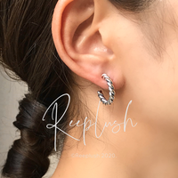 silver925 Rope Pierce<Style No.020605-20>