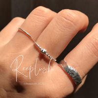 silver925 3SET Ring/size:S,M,L〈Style.No.020611-20〉