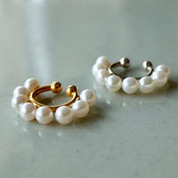 Eight Pearl EarCuff [RC-EC014]