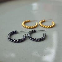 Twist Line Circle Pierce [RC-PC004]
