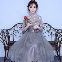 ミディアム ドレス  二次会 結婚式 パーティー ロングドレス