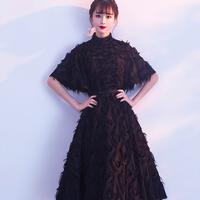 イブニングドレス お呼ばれ エレガント ドレスパーティー ドレス