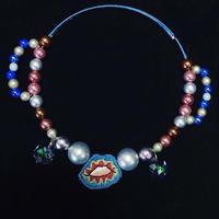 唇婦人ネックレス(Mrs. Lips necklace)