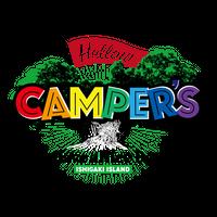 【Hellow CAMPER'S 】ORIGINAL STICKER/LARGE