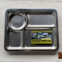 【DULTON】STAINLESS COMBO PLATE A